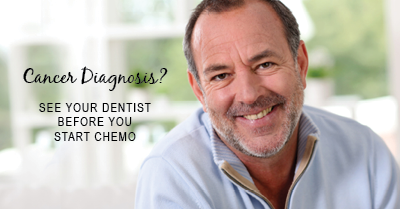 cancer diagnosis? see your dentist before starting chemo