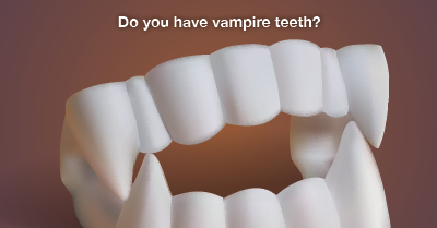 fix vampire teeth